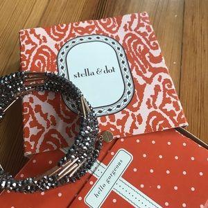 Stella and Dot beaded sparkle bracelet
